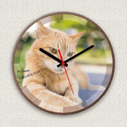 オリジナル時計 サークル