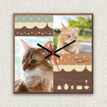 うちの子オリジナル時計カフェテリア