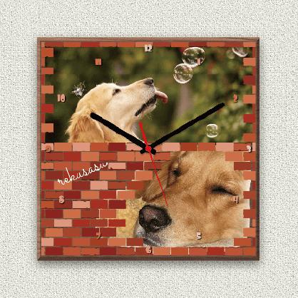 うちの子オリジナル時計ブロック