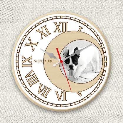 オリジナル時計ホワイトムーン