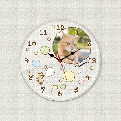 オリジナル時計 シャボン玉