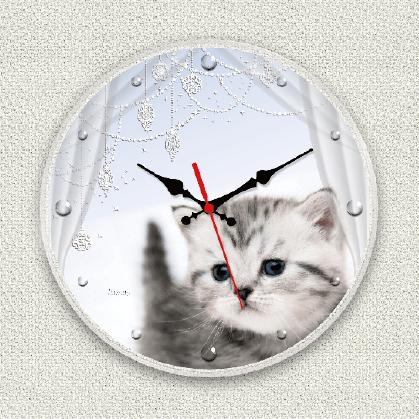 うちの子オリジナル時計きらきらダイヤモンド