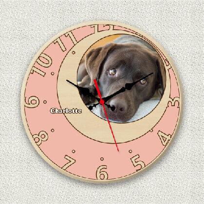 オリジナル時計ローズピンクムーン