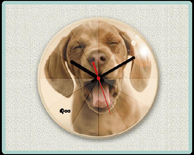 うちの子オリジナル時計ミラー