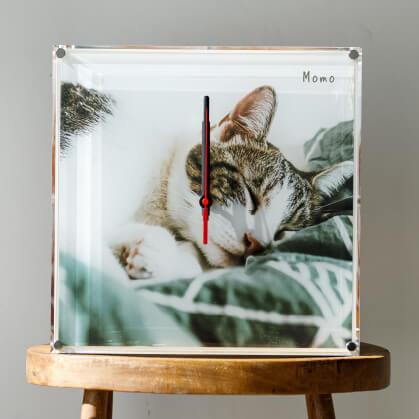 うちの子箱型時計フォトボックス