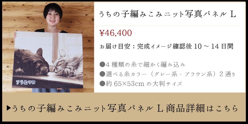 ニット写真パネル(Lサイズ)の商品詳細