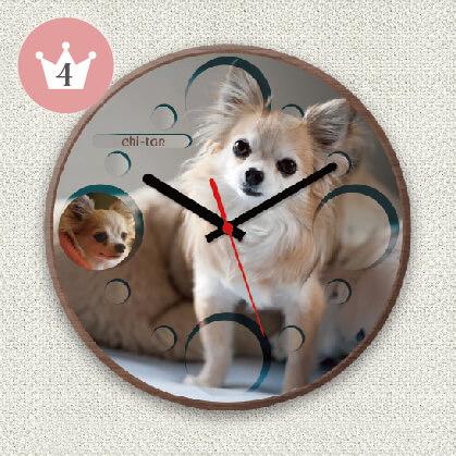 うちの子オリジナル時計バブル