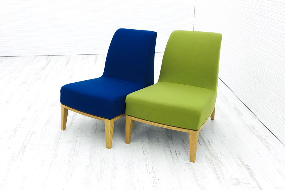 2脚セット Potocco ポトコ イタリア デザインソファー 1Pソファー 中古ソファ 1人用 ソファー 中古オフィス家具の画像