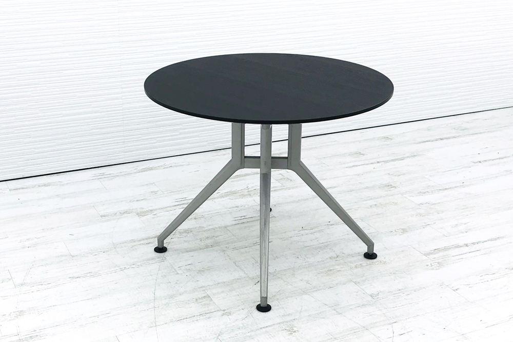 イトーキ 丸テーブル 中古テーブル ミーティングテーブル W900 中古オフィス家具の画像