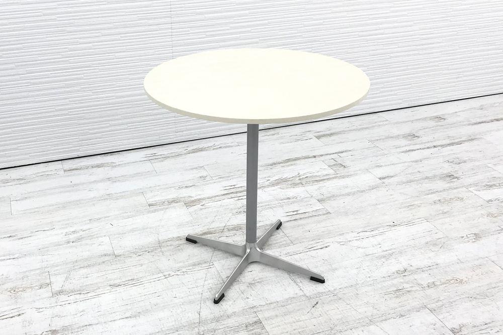 カッシーナ Cassina 丸テーブル 中古テーブル ミーティングテーブル W700 中古オフィス家具の画像