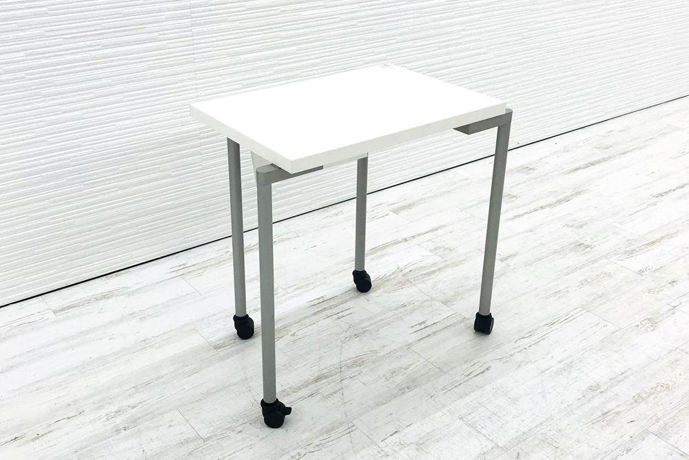 講義用テーブル ミーティングテーブル オカムラ L‐table エルテーブル 中古机 中古オフィス家具 93DEB2 Z637の画像
