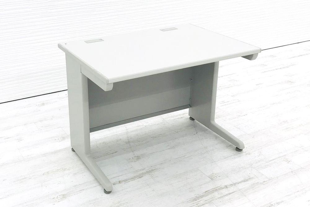 オカムラ SD-V SDシリーズ 平机 W1000×D700×H700 中古机 中古オフィス家具 オフィスデスク 事務机 グレーの画像