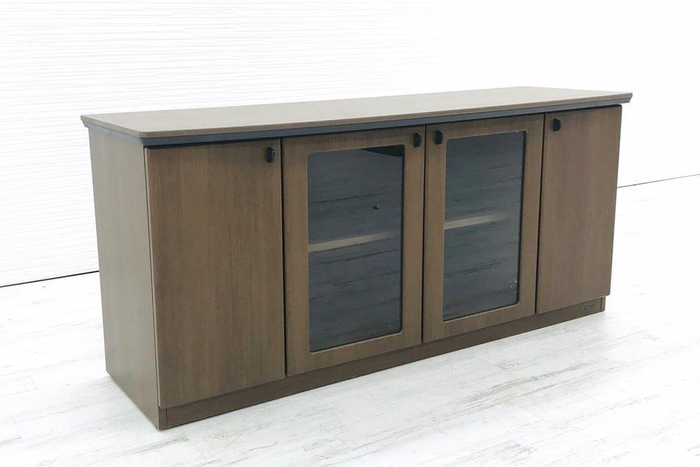 オカムラ クレデンザ DX-4Nシリーズ 中古家具 収納家具 サイドボード エグゼクティブ 中古オフィス家具 DX05CZ-MK19の画像