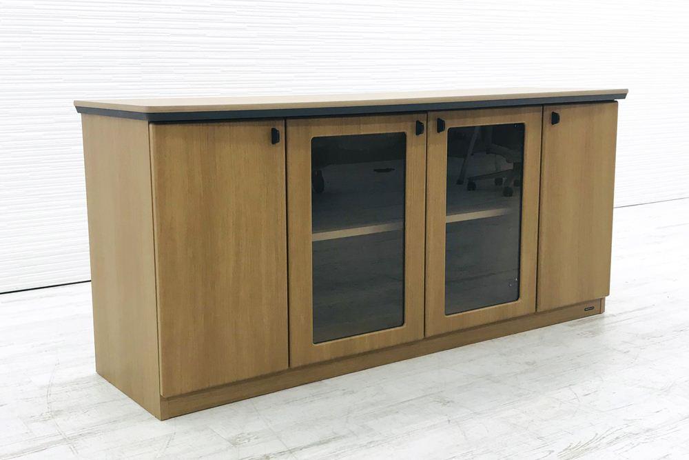 オカムラ クレデンザ DX-4Nシリーズ 中古家具 収納家具 サイドボード エグゼクティブ 中古オフィス家具 DX05CZ-MK18の画像