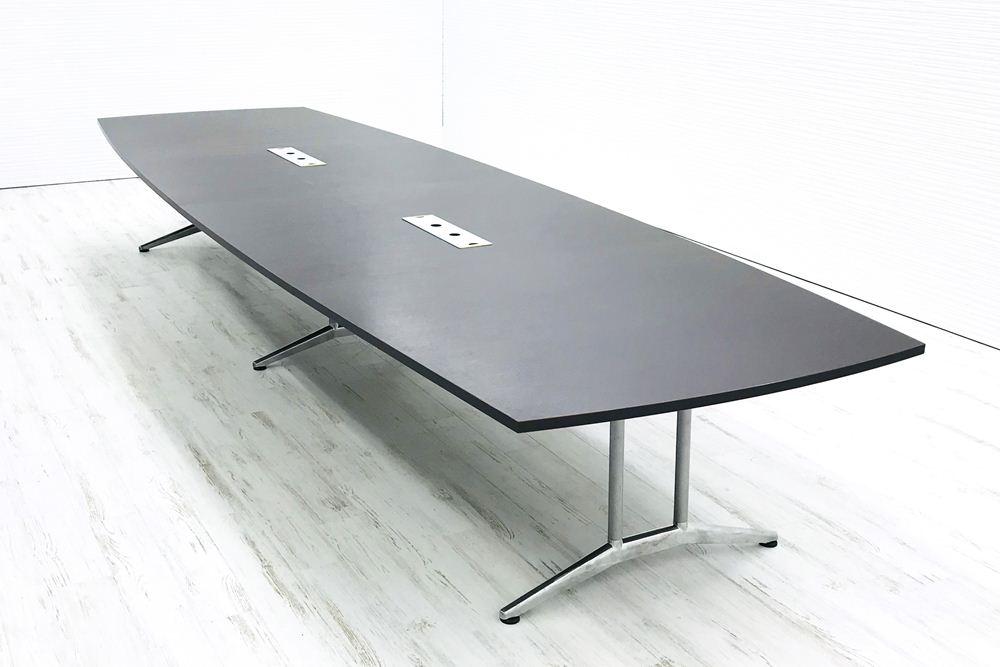 内田洋行 ST5200シリーズ 大型会議机 中古テーブル W4800×D1500mm×H700mm 幅4800 ミーティングテーブル 会議机 中古オフィス家具の画像