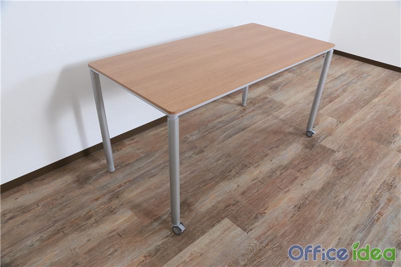 オカムラ ミーティングテーブル 会議机 幅1400 DY114P ML28 OKAMURA 中古オフィス家具 の画像