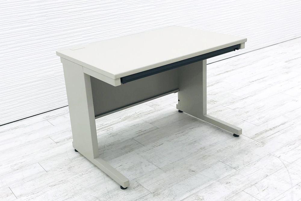 コクヨ 平机 平デスク 幅1000 W1000×D700×H700 中古机 中古オフィス家具 オフィスデスク 事務机の画像