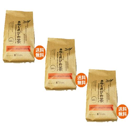 【あす着対応】【お買上特典】十津川農場 ねじめびわ茶300 (2gティーバック 300包入)×3箱セット画像