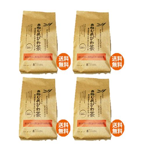 【あす着対応】【お買上特典】十津川農場 ねじめびわ茶300 (2gティーバック 300包入)×4箱セット画像
