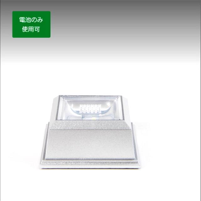 LED 台座 ライト ステージ スタンド 【乾電池式】 クリスタル ガラス フィギュア画像