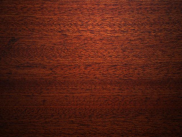 マホガニーの材木