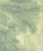 むら雲染め 揉み入り 緑+黄緑+白の画像