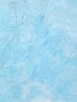 むら雲染め 揉み入り 水+白の画像