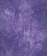 むら雲染め 揉み入り 紫+白の画像