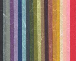 雲竜紙 厚口 15色セットの画像