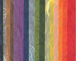 雲竜紙 薄口 16色セットの画像