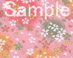 友禅紙 朧桜 桃の画像
