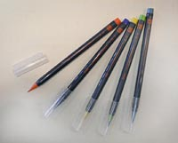 色筆ペン 彩 画像