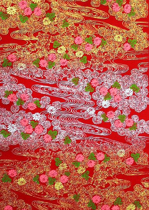 能千代 菊流水 赤画像