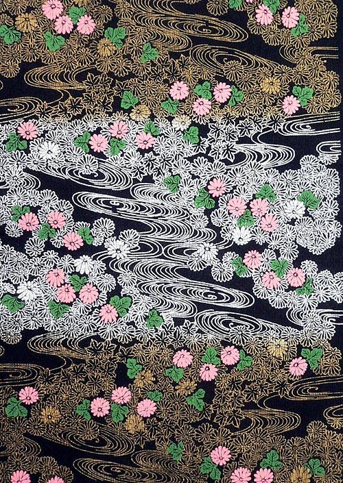 能千代 菊流水 黒の画像