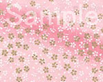 友禅紙 花筏 桃の画像
