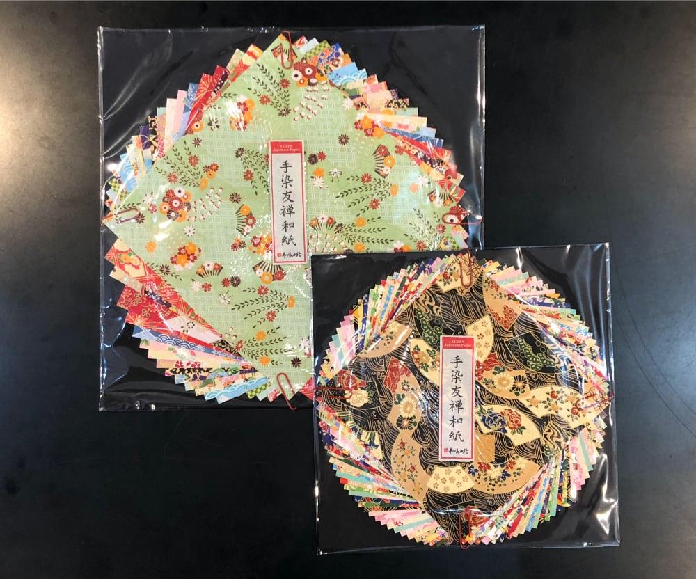 折り紙 手染友禅和紙画像