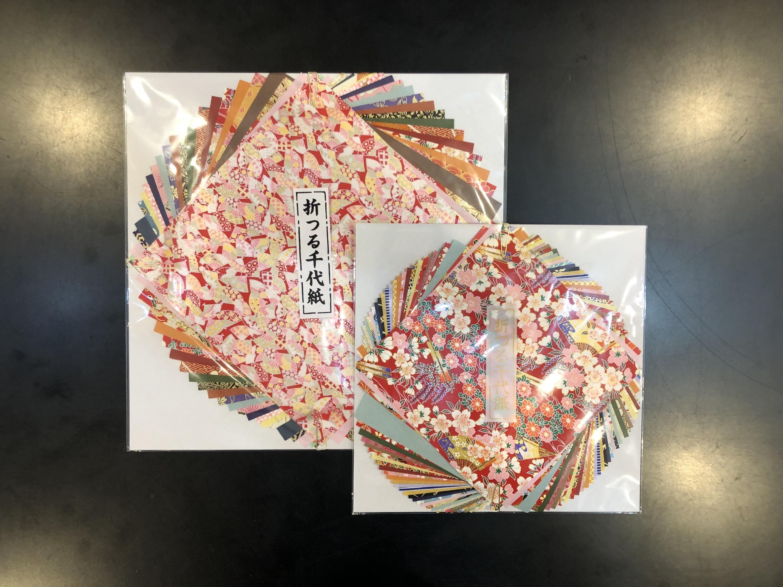 折り紙 折つる千代紙画像