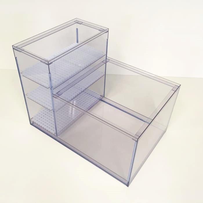 L型2層式濾過槽(900×400×500/350)画像