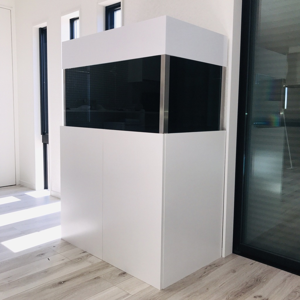 1210×460×800H水槽台用(扉&サイドパネル加工)(ポリランバー仕様)画像