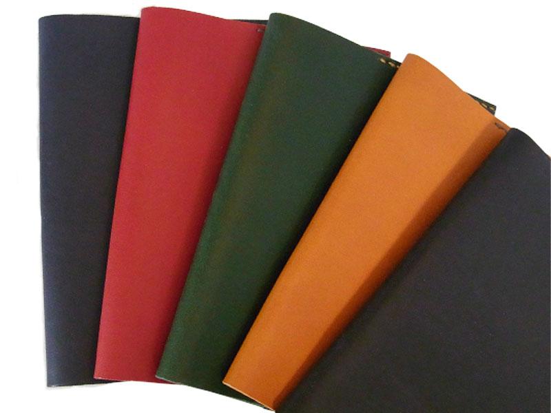 手縫い 本革 A6ブックカバー(シンプル)の画像