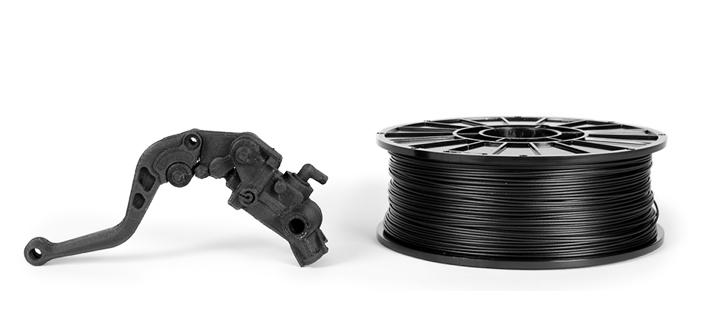 eSUN ePA-CF(ナイロンベース、カーボンファーバーフィラメント) 1.75mm 1Kgの画像