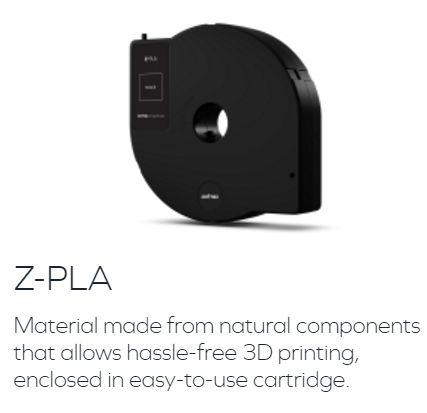 Z-PLA Zortrax社純正 Inventure専用フィラメントの画像