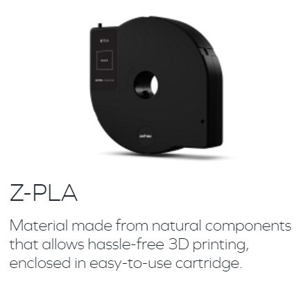 Z-PLA Zortrax社純正 Inventure専用フィラメント画像