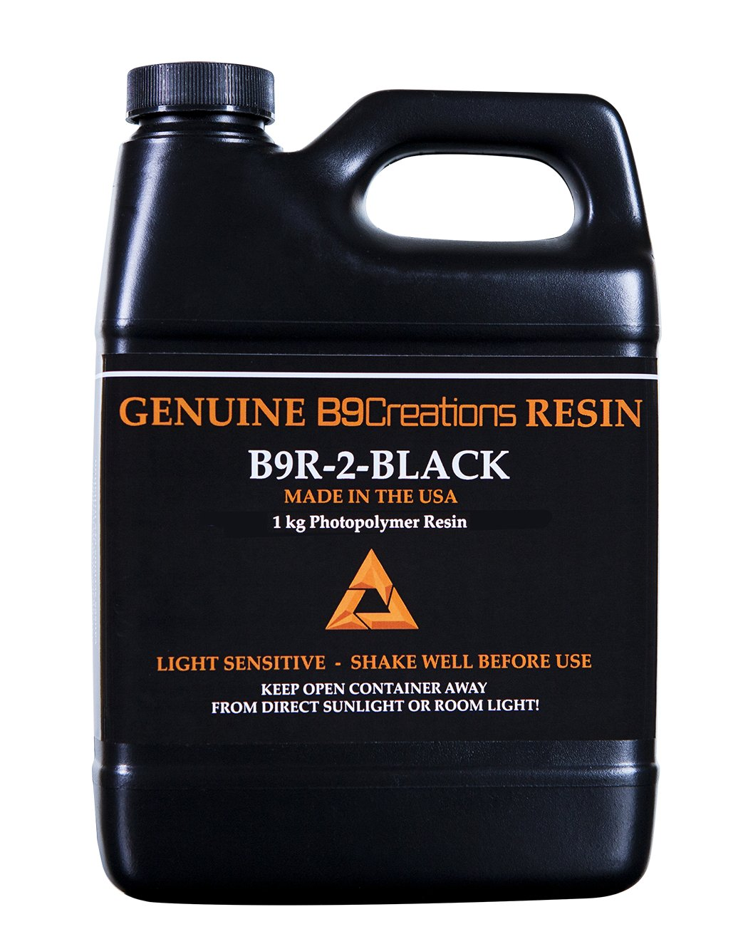 B9Creator Black(ブラックレジン)1Kg 試作品作成向け画像