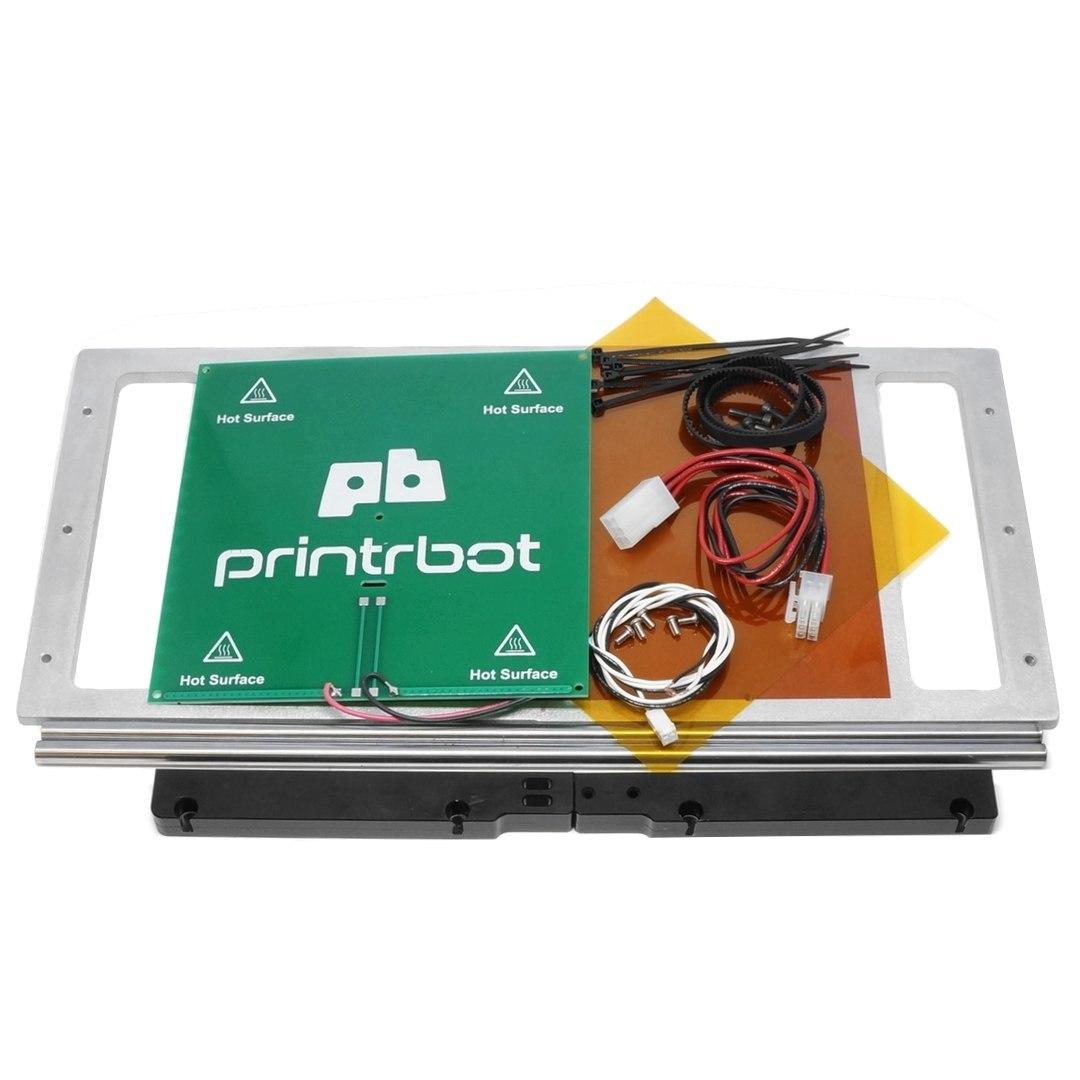 Printrbot X方向拡大プレート+ヒーテッドベッド アップグレードキット Simple Metal用画像