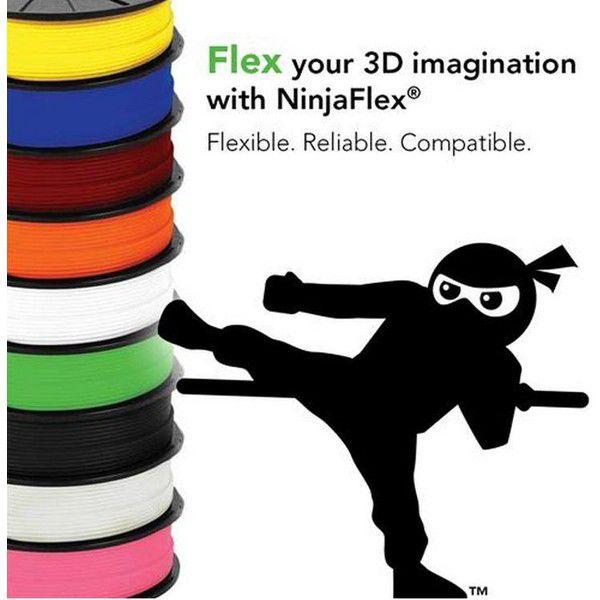 NinjaFlex ゴム質フィラメント画像