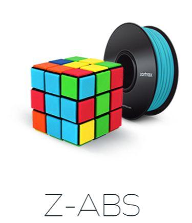 Zortrax Z-ABS 特価8本セットの画像
