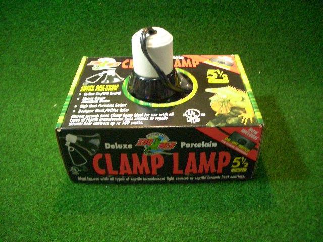 クランプランプソケット5.5インチの画像