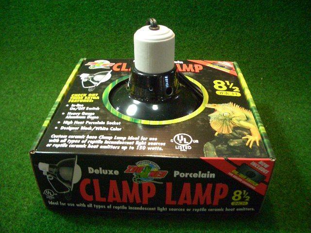 クランプランプソケット8.5インチの画像