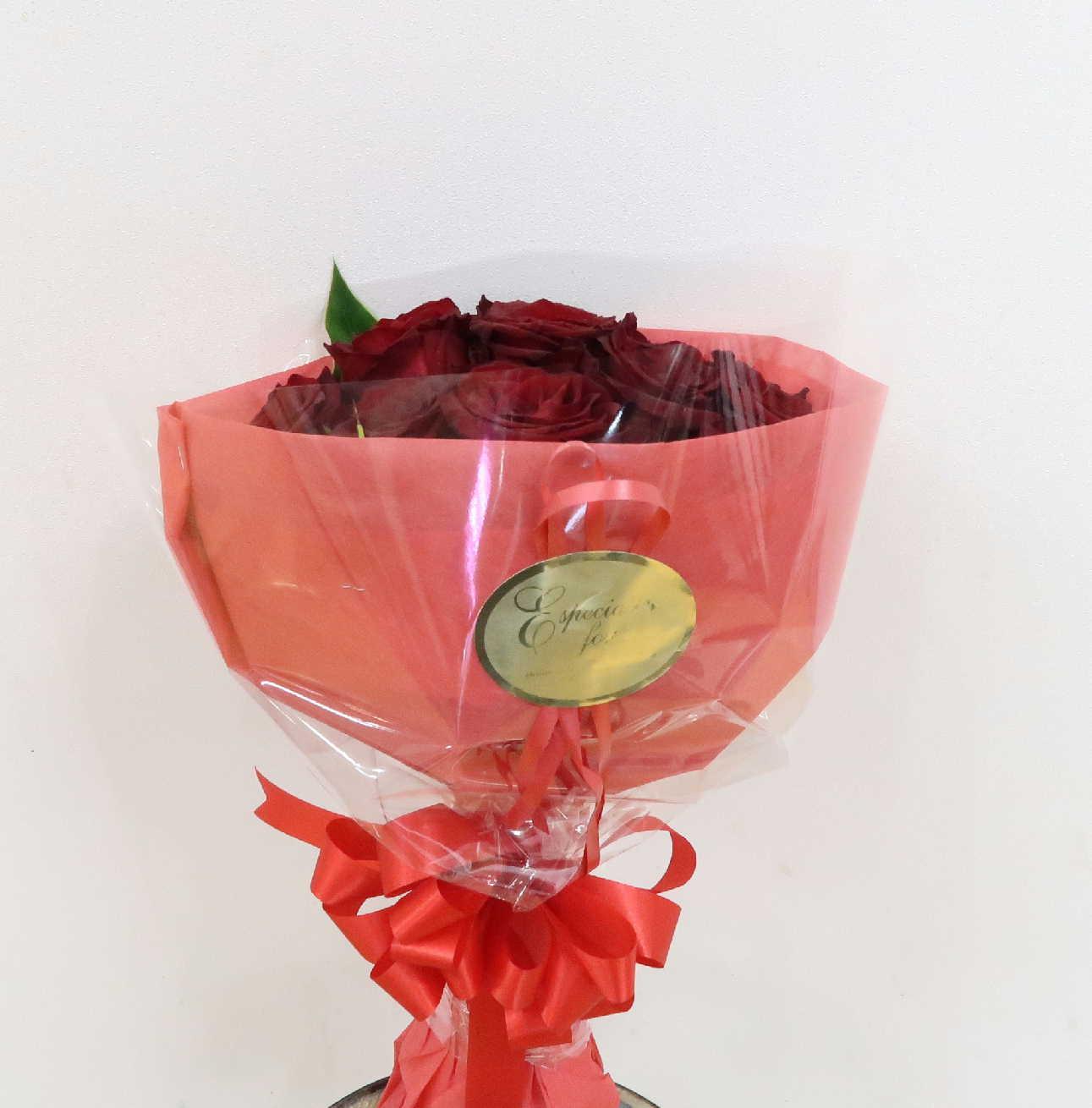 【ルーブル】 情熱12本赤バラのブーケ画像